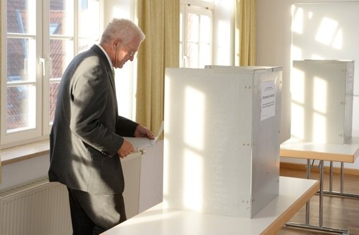 CDU gewinnt in Baden-Württemberg