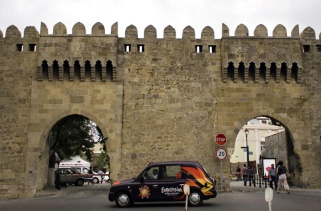 Taxi oder Metro? In Baku kann man nur das kleinere Übel wählen. Foto: dapd