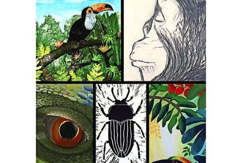 Die Vielfalt allen Lebens im Dschungel