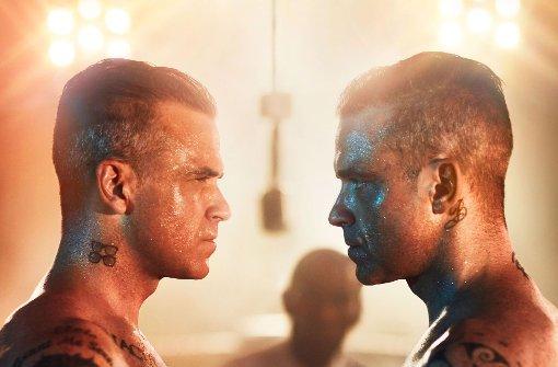 So janusquerköpfig wie Robbie Williams selbst
