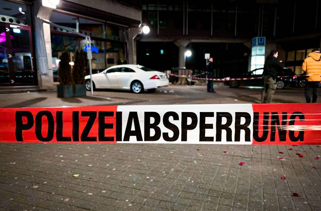 Auf dem Josef-Hirn-Platz wurde am Sonntag ein 23-Jähriger niedergestochen. Foto: 7aktuell.de/ MG