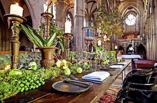 Luxus-Dinner in der Johanneskirche