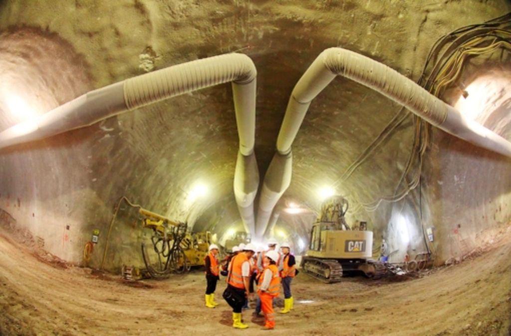Der Tunnelbau unter Wangen ist für die Anwohner zu laut. Foto: Lichtgut/Jan Reich
