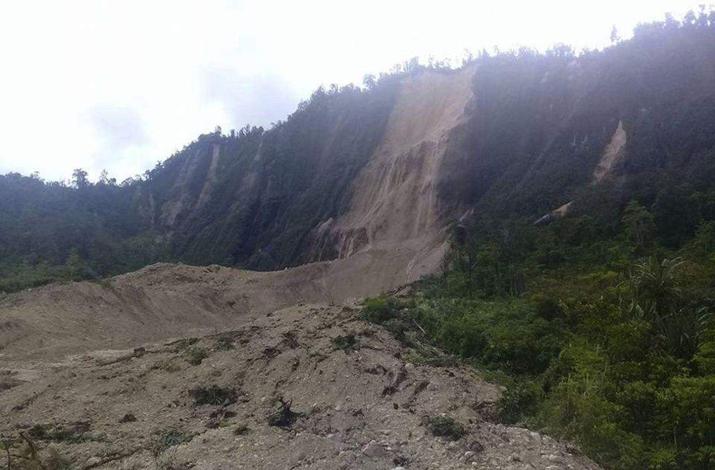 Das Beben in Papua-Neuguinea löste Erdrutsche aus. Foto: Luke Purre/dpa
