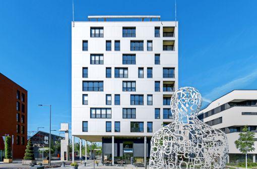 Auch Hochhäuser kann man aus Holz bauen