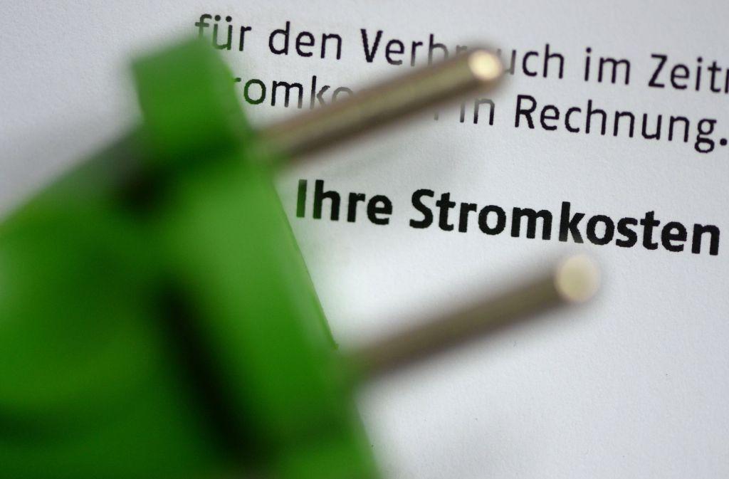 Einmal pro Jahr sollte man überprüfen, ob man seine Stromrechnung senken kann. Wir helfen Ihnen mit einem Strompreisvergleich für die Stadt Stuttgart. Foto: dpa-Zentralbild