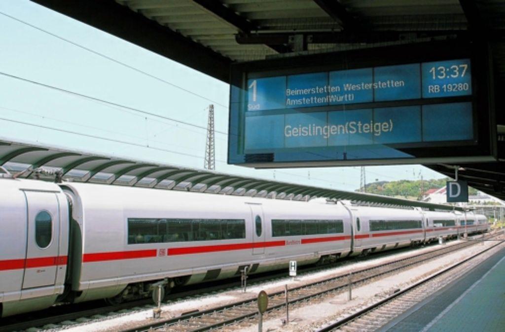 Der Traum vom S-Bahn-Halt im Ulmer Hauptbahnhof droht zu platzen Foto: Bäßler