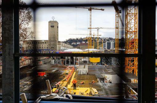 Geld vom Bund für neue Gleise zum Tiefbahnhof