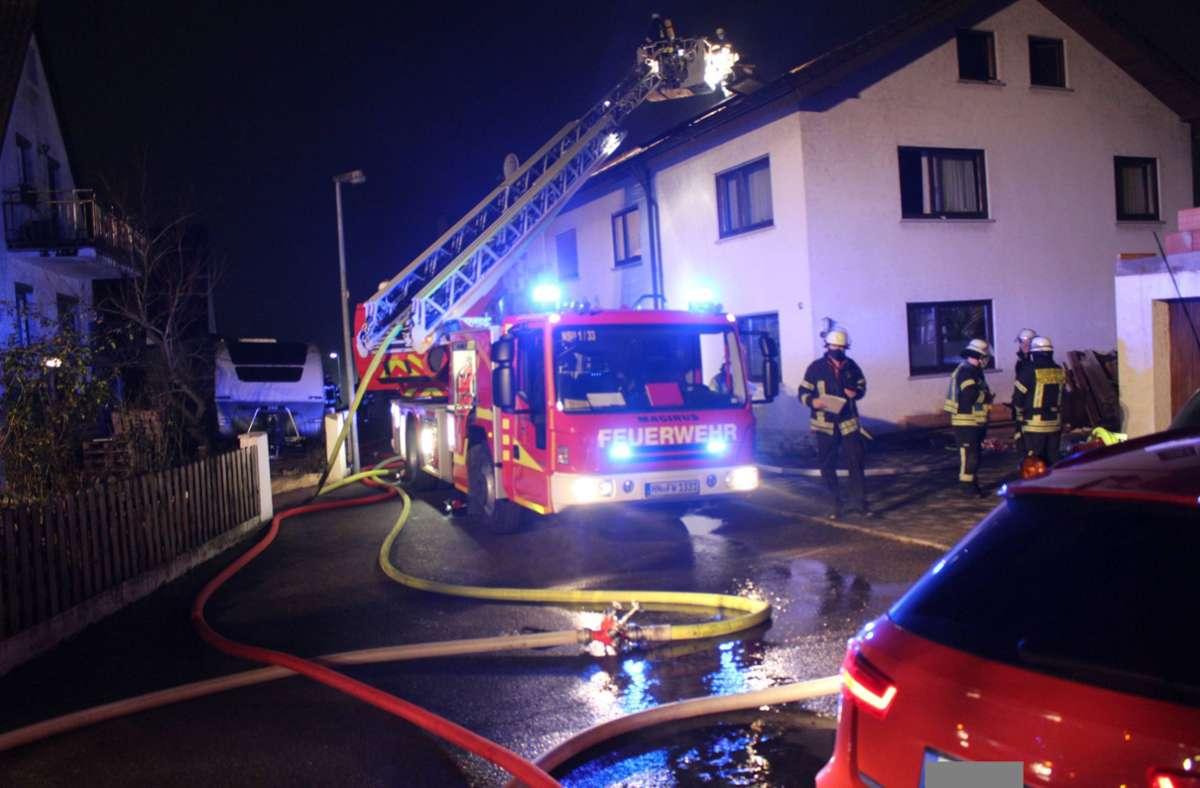 Die Feuerwehr musste in der Nacht ausrücken. Foto: 7aktuell.de/ Walter/7aktuell.de   Walter
