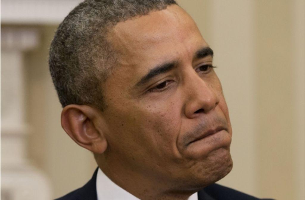 Hat wenig Handlungsspielraum: US-Präsident Obama. Foto: AP