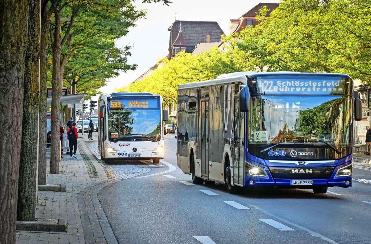 Ein attraktiver Busverkehr hat oberste Priorität im Kreis. Foto: factum/Simon Granville