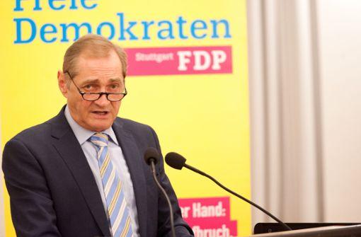 FDP erwägt eigenen OB-Kandidaten