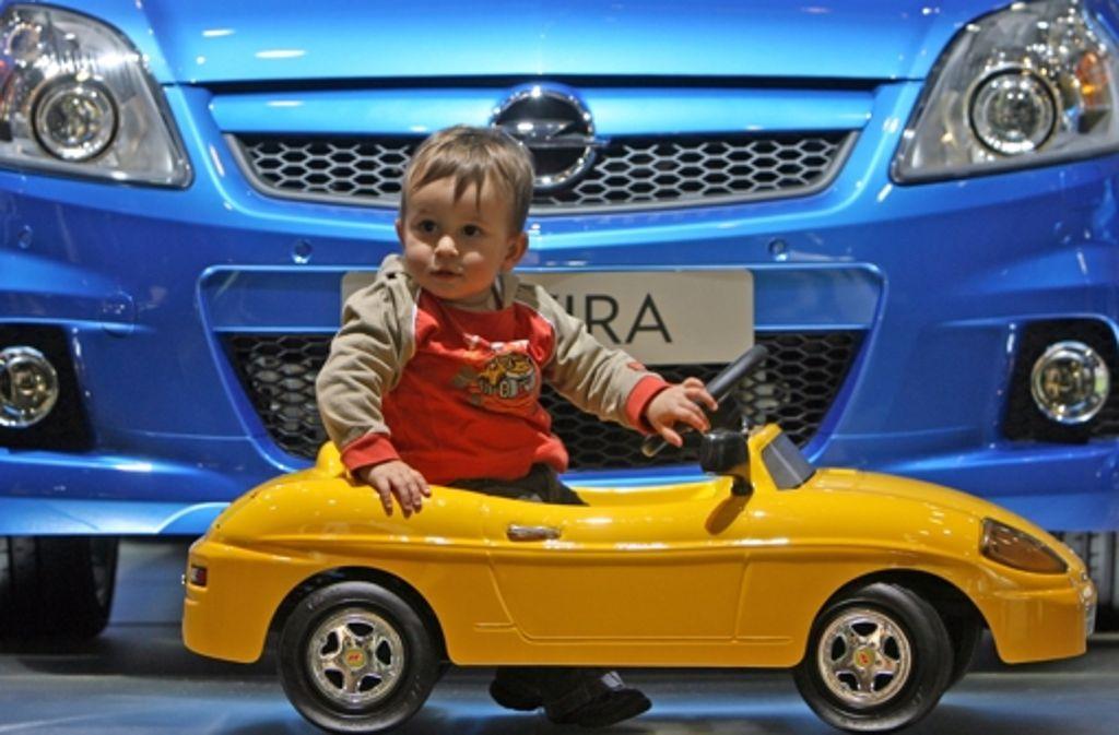 Zum Spielen taugt das Auto. Zum Statussymbol nicht so recht. Foto: dpa-Zentralbild