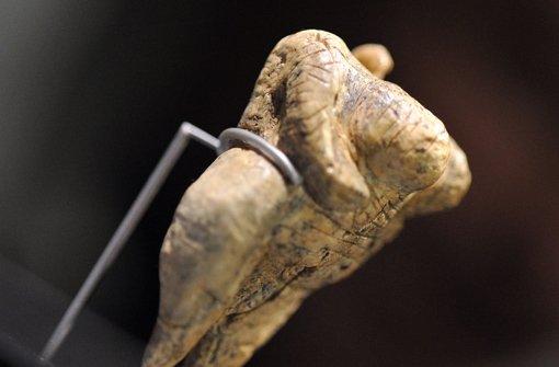 Eiszeit-Figur im Museum in Blaubeuren