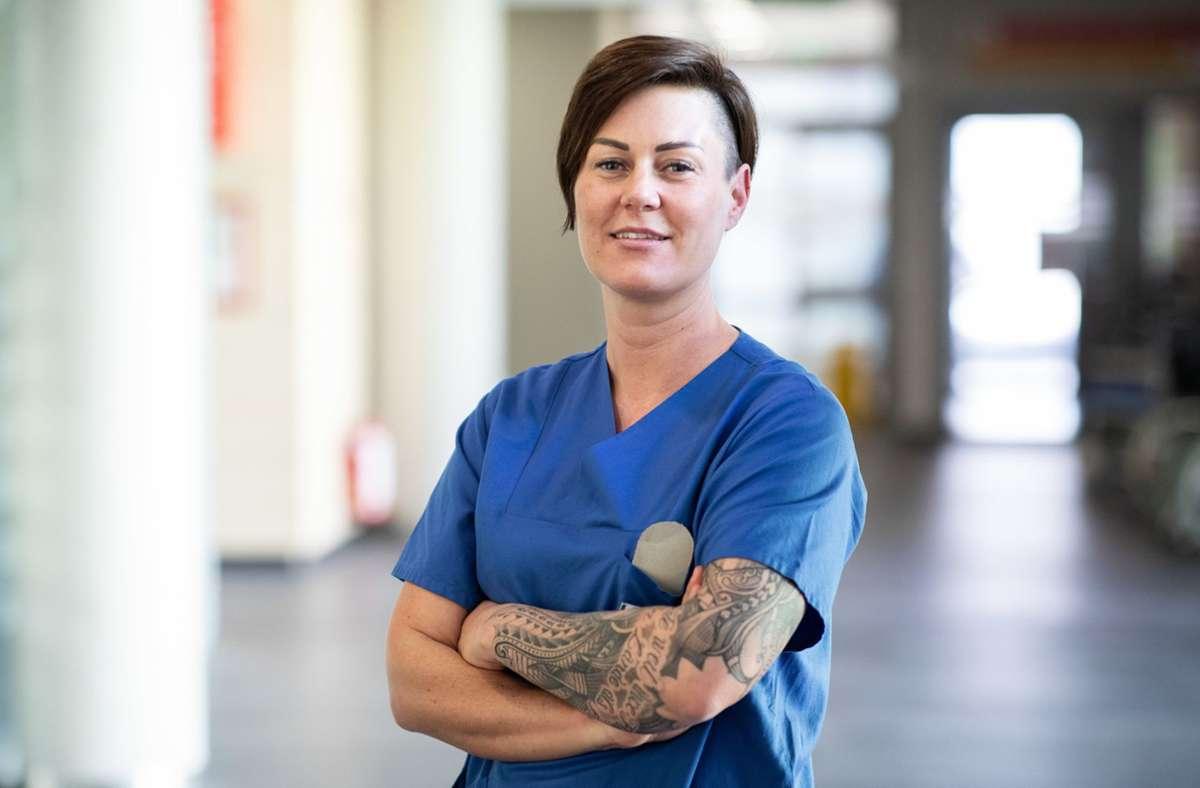 Carola Holzner ist leitende Oberärztin am Universitätsklinikum Essen. Foto: Marcel Kusch/dpa