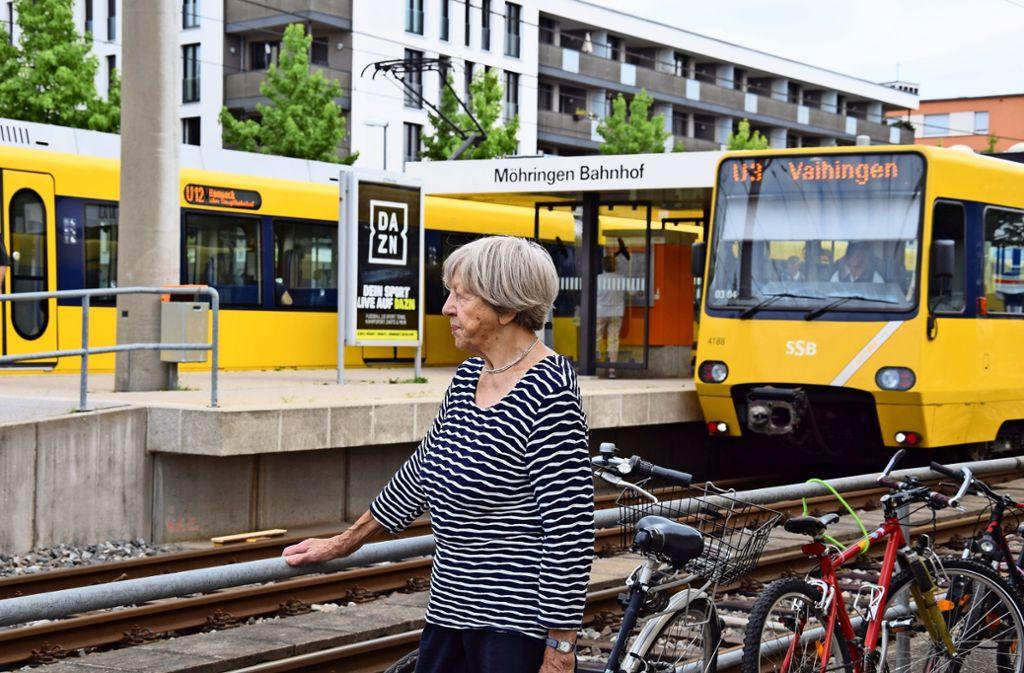 Rosemarie Müller sieht die SSB in der Pflicht. Foto: Alexandra Kratz