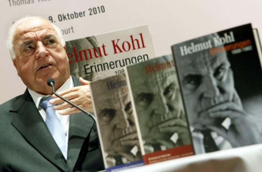 Altkanzler Helmut Kohl Foto: dpa