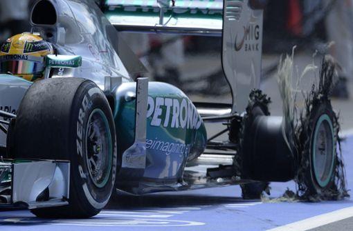 Was steckt in den Formel-1-Reifen?