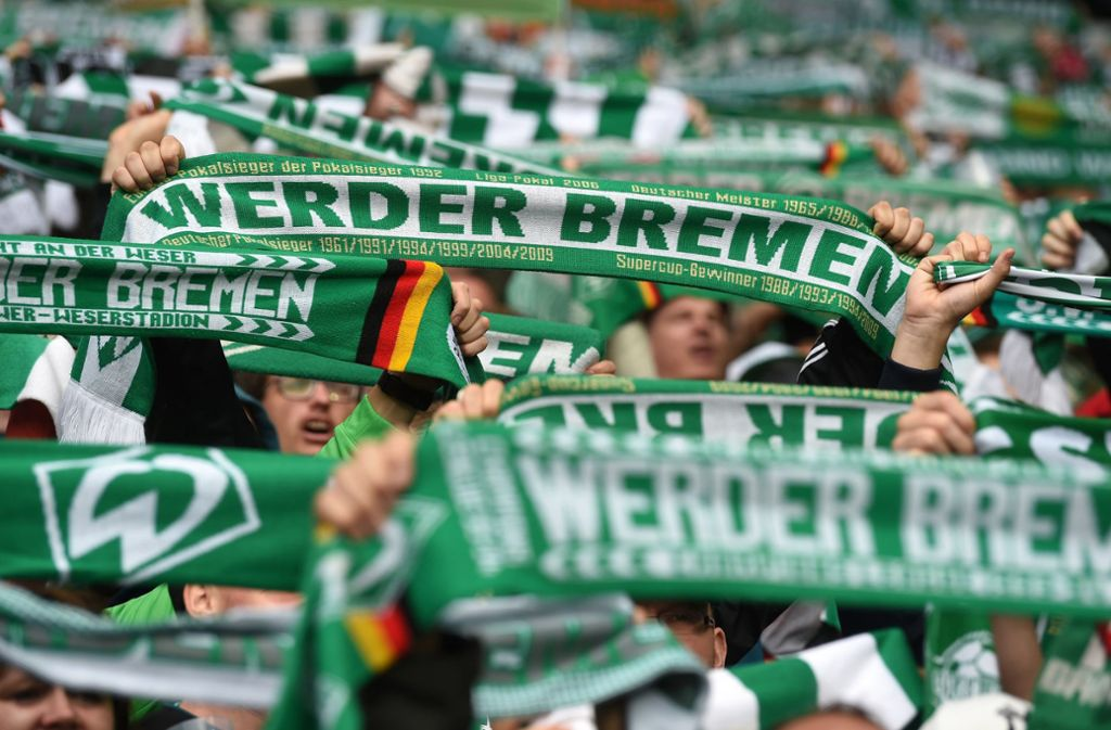 Werder-Ultras boykottierten die Pokal-Partie nach einem Polizeieinsatz. Foto: dpa/Carmen Jaspersen