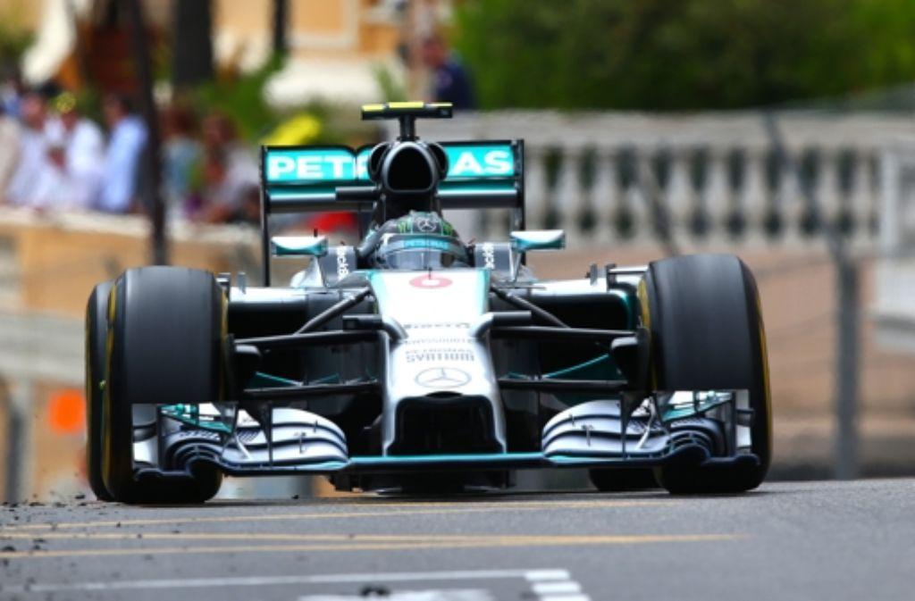 Mercedes-Pilot Nico Rosberg kam beim Großen Preis von Monaco als erster ins Ziel. Foto: Getty Images Europe