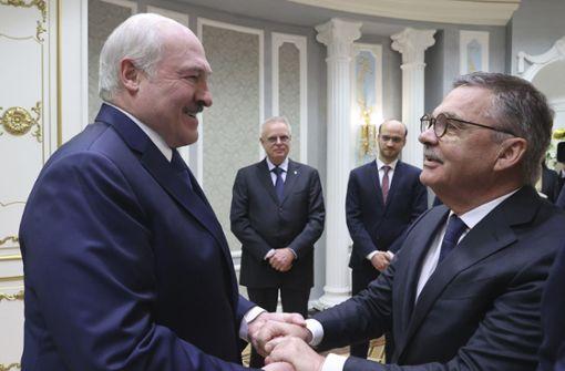 Widerstand gegen Eishockey-WM in Belarus wächst