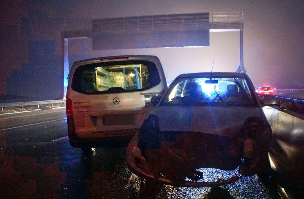 Auf der A8 ist es am Mittwochmorgen zu einem Unfall gekommen. Foto: SDMG