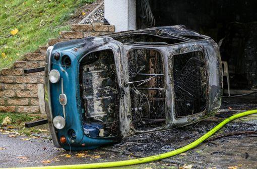 Oldtimer-Brand fordert Verletzten und hohen Schaden