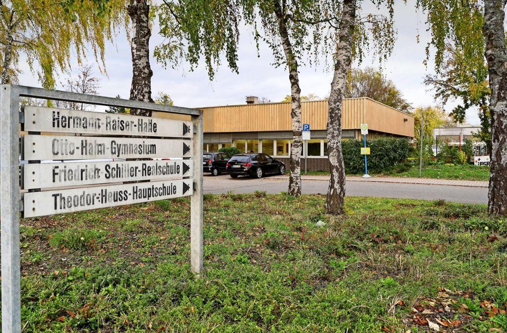 Das Schulzentrum im Stockbrünnle steht auf Platz eins der Schulsanierungsliste. Foto: factum/Jürgen Bach