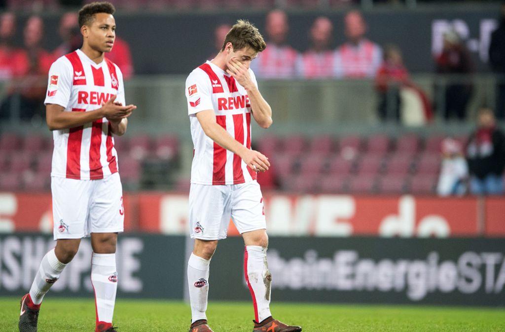 Wechselt vom 1. FC Köln II zum VfB: Nicolas Nartey (li.) Foto: dpa