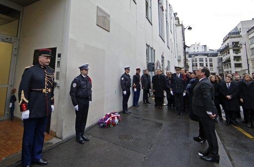 Frankreich gedenkt den Opfern