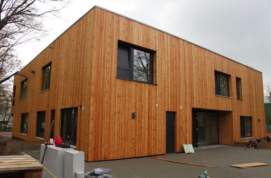 Das neue Montessori-Kinderhaus am Keßlerweg soll Anfang Mai bezogen werden. Foto: Eveline Blohmer