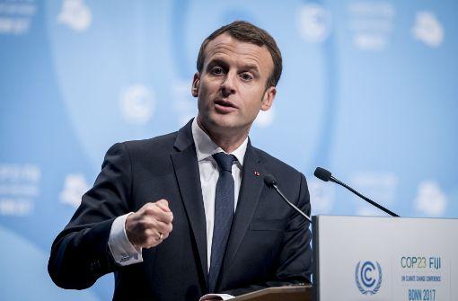 Macron lädt Premier Hariri und Familie nach Frankreich ein