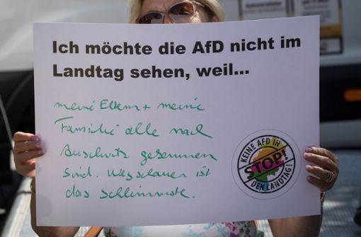 Mehrheit der Bundesbürger für Überwachung der AfD