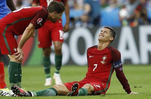 Ronaldo verletzt ausgewechselt