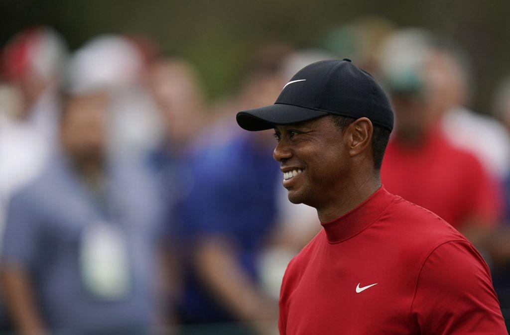 Tiger Woods kann sich über einen wichtigen Sieg freuen. Foto: AP