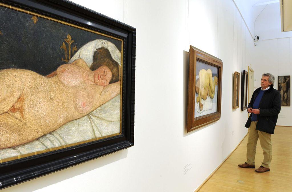Das Museum widmet sich erstmals den Selbstporträts seiner Namensgeberin Foto: dpa