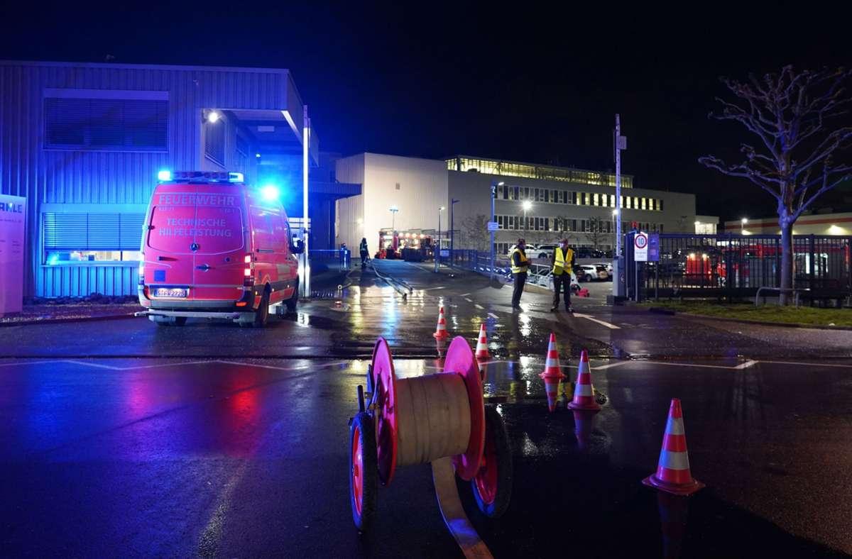 Ein Zeuge entdeckte gegen 17 Uhr den Brand. Foto: Andreas Rosar Fotoagentur-Stuttg