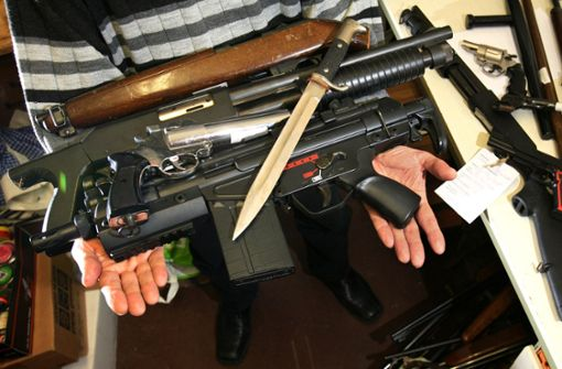 Baden-Württemberger sind bei straffreier Abgabe illegaler Waffen verhalten
