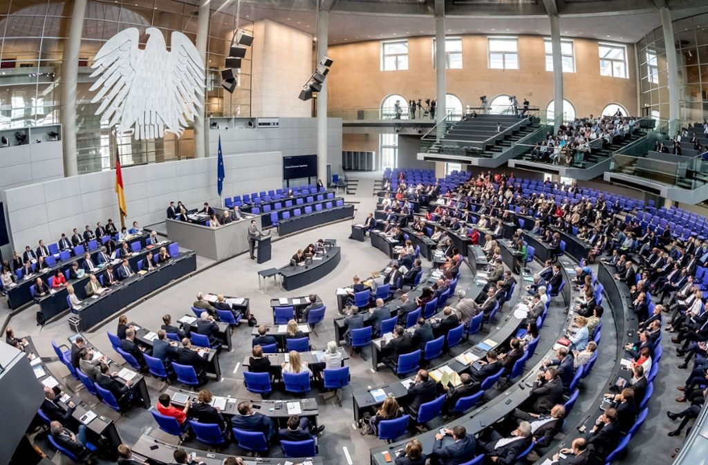 Der Bundestag hat eine deutliche Aufstockung der Parteienfinanzierung gebilligt. Foto: dpa