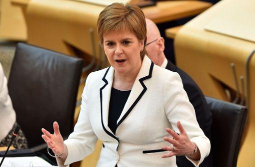 Schottische Regierungschefin Sturgeon will erneute Abstimmung bis 2021