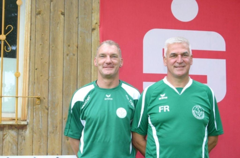 """Keine Träumer: Frank """"Wuschi"""" Rohde (rechts) und sein Co Andreas Schiemann Foto: StZ"""