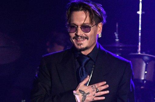 Juliette Lewis rockt für Johnny Depp