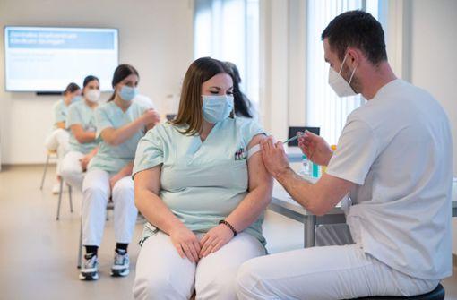 Kliniken bereiten ihr Personal vor
