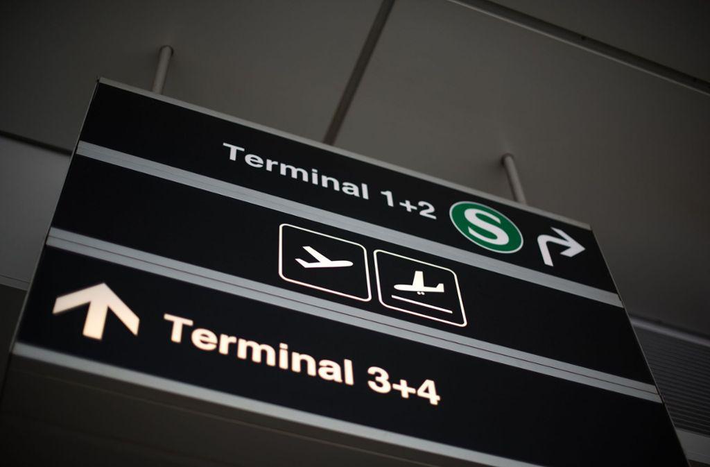 Die Frau verlor ihren Ring in einem Gate im Terminal 3 des Stuttgarter Flughafens. Foto: Lichtgut/Max Kovalenko