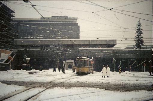 Erinnerungen an   strenge Wintertage in Stuttgart