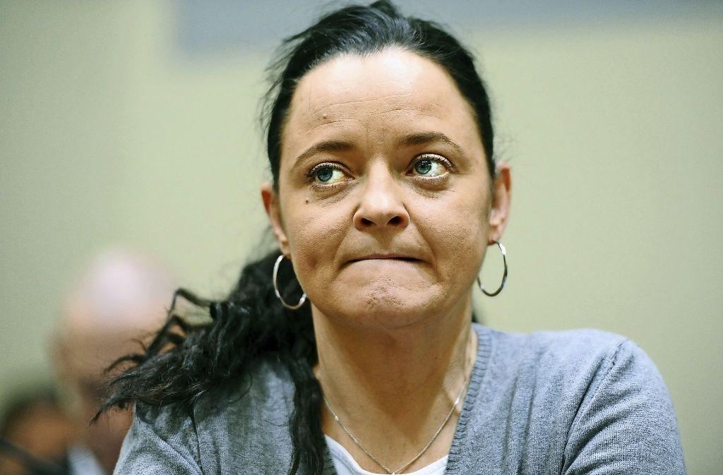 Schweigt auch am 331. Verhandlungstag: Hauptangeklagte Beate Zschäpe Foto: dpa