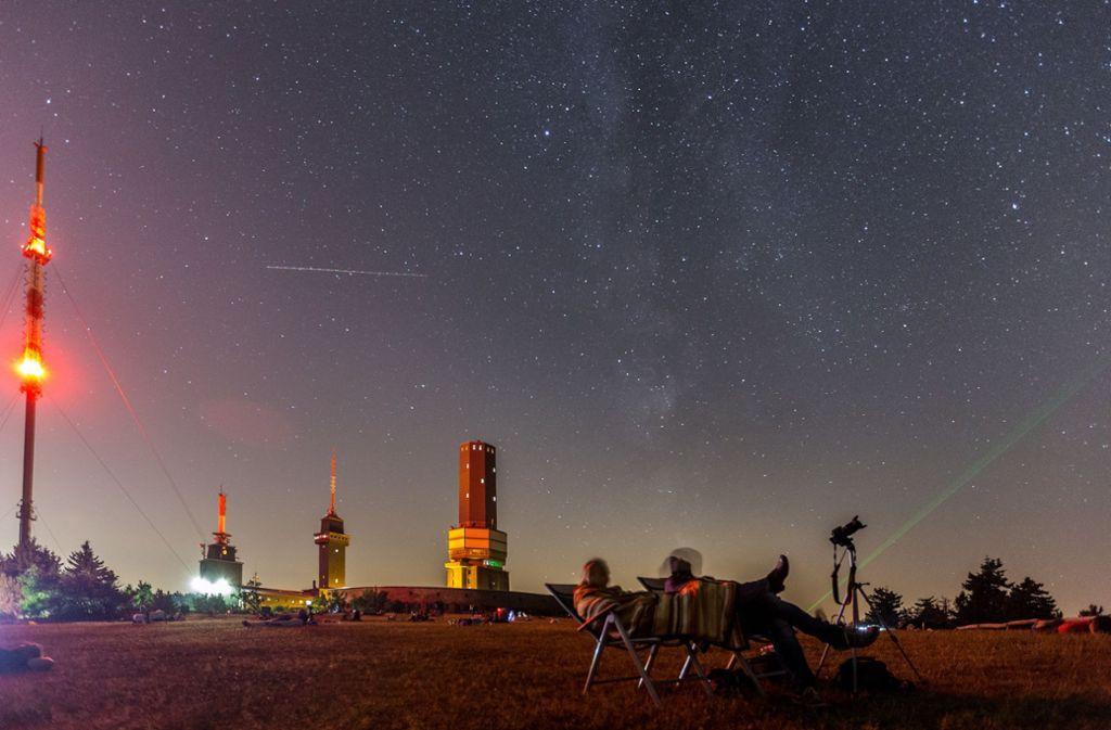 Dieses Wochenende bietet ein besonderes Sternschuppen-Schauspiel am Himmel. Foto: dpa