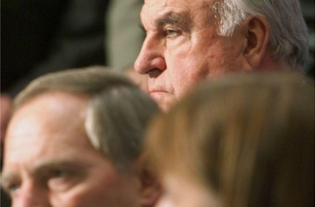 Finanzminister Wolfgang Schäuble, einstiger Vertrauter von Helmut Kohl. Foto: AP