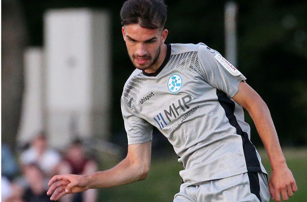 Glaubte nicht mehr an eine Zukunft bei den Stuttgarter Kickers: Mittelfeldspieler Tim Wöhrle. Foto: Baumann