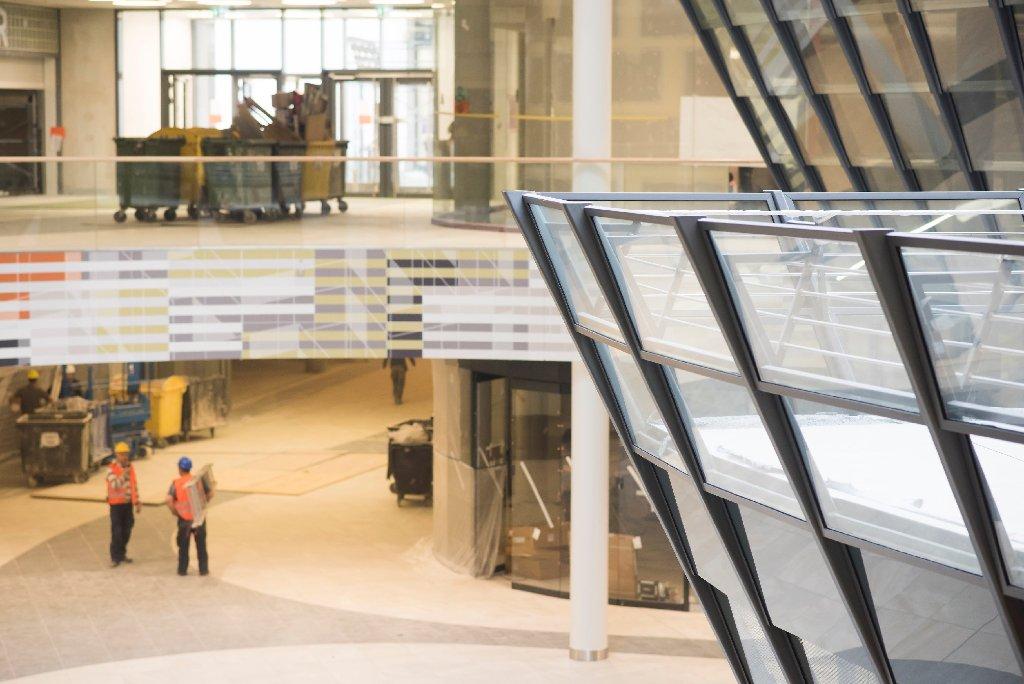 Wir waren schon mal spicken: So sieht das Milaneo in Stuttgart von innen aus. Foto: www.7aktuell.de | Oskar Eyb